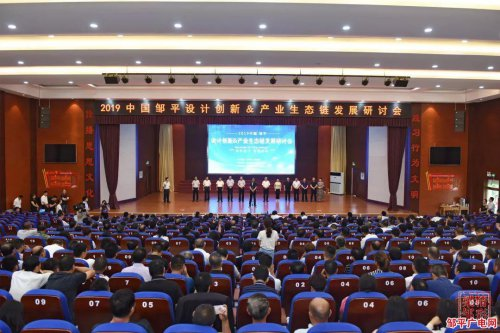 好生街道:2019中国·邹平设计创新&生态产业链发展研讨会隆重举行!